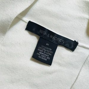 89th & Madison Sweaters - 89th & Madison White Cardigan Size M